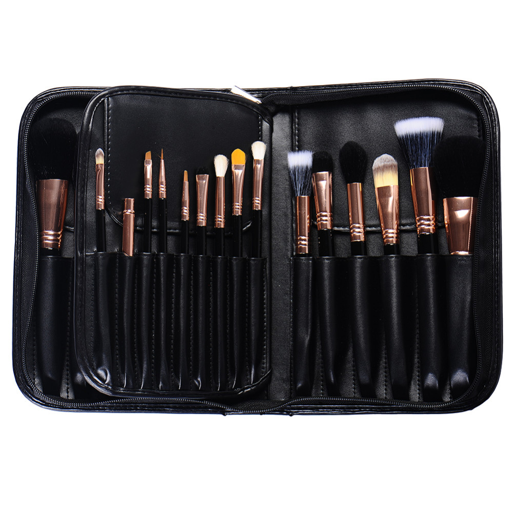 Schwarz elegante Professionelle Weiß Marmor Make-Up Pinsel Set 29 Stück mit Foundation Kosmetik Pinsel lidschatten pinsel