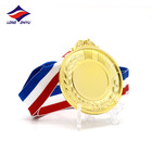 Metal Gold Foil Golden Medals Longzhiyu 13 Years China Professional Ready Made Medals Manufacturer Custom Gold Foil Medals Wholesale Golden Sticker Medals