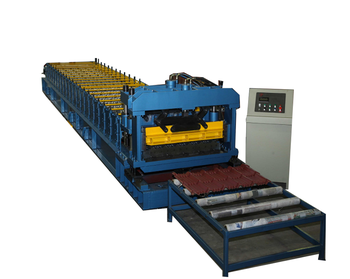 Automatic Glazed Steel Tile Forming Machine Corrugated Steel Roof Machine Roof Tile Making Machine