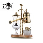 Stainless Steel Gold Color Royal Espresso Cafetera Balancing Siphon Coffee Maker