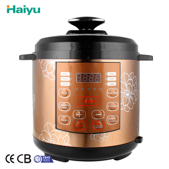 Haiyu Company Household Appliance Energy Saving Automatic Electric Pressure Cooker