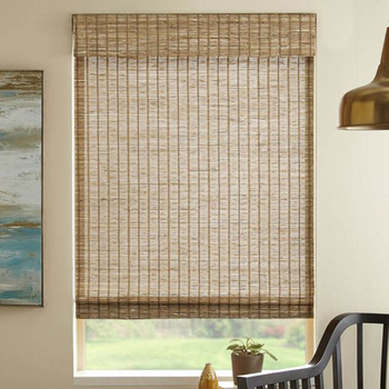 wholesale chinese cheap decoration waterproof big lots mat rattan matchstick roller wovenbamboo blinds for home
