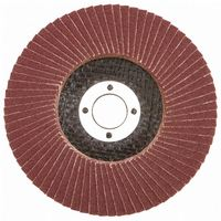 "7""x7/8"" 125x22mm T27 T29 36-320 Grit Calcined oxide flap mop disc for metal, wood, alloy and plastic"