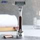 Hot Sale Customized System Razor Flexible 6 Blade Shaving Razor