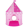 Large Pop Up Kids Princess Castle Play Tents With Glow Stars In The Dark