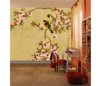 Bird And Flower Interior Painting Larger Hd Image Old Photo Design Wall Murals Buy Bird And Flower Interior Wall Murals Hd Image Old Photo Wall