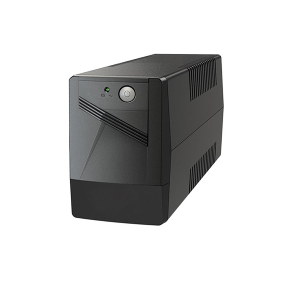 Ecsun ups 650va/360w square wave mini battery 12v ups power