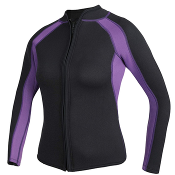 Factory made 3mm Wetsuits Long Sleeve Neoprene Wetsuits Top