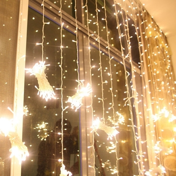 hot sale ideal patio Christmas Festival Outdoor Waterproof ins style twinkle room deco string light