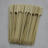 Green /white color bamboo bbq teppo skewers/sticks good quality flag skewer golf stick