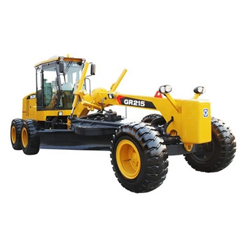 215 HP 16.5 Ton China GR215 Motor Grader with Scarifier Ripper