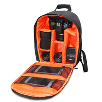 Waterproof Functional DSLR Backpack Camera Video Rain Cover SLR Tripod Case PE Padded Bag for Photographer