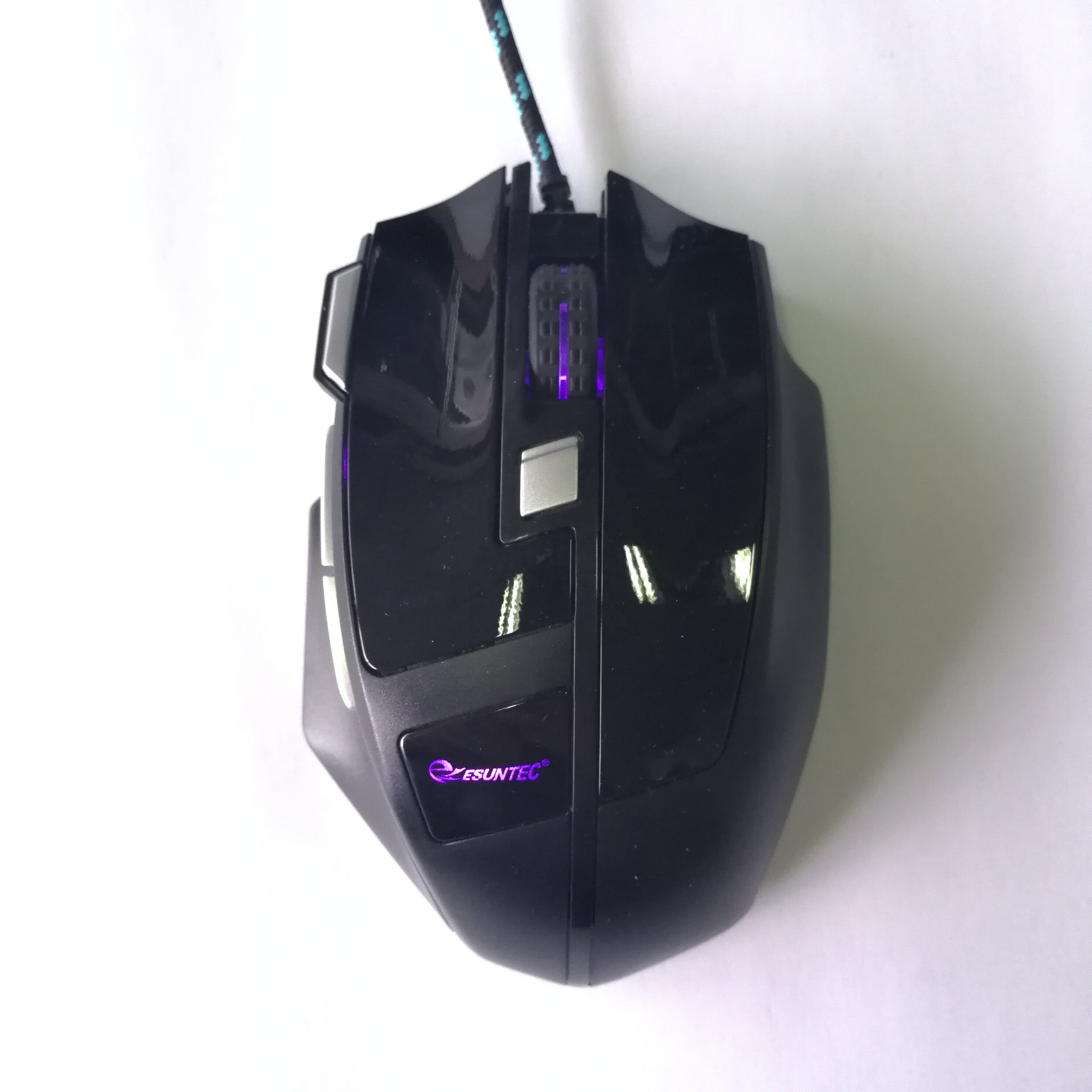 7D OEM Manufacturer Wired Optical Computer Gaming Mouse With LED Light GM-166