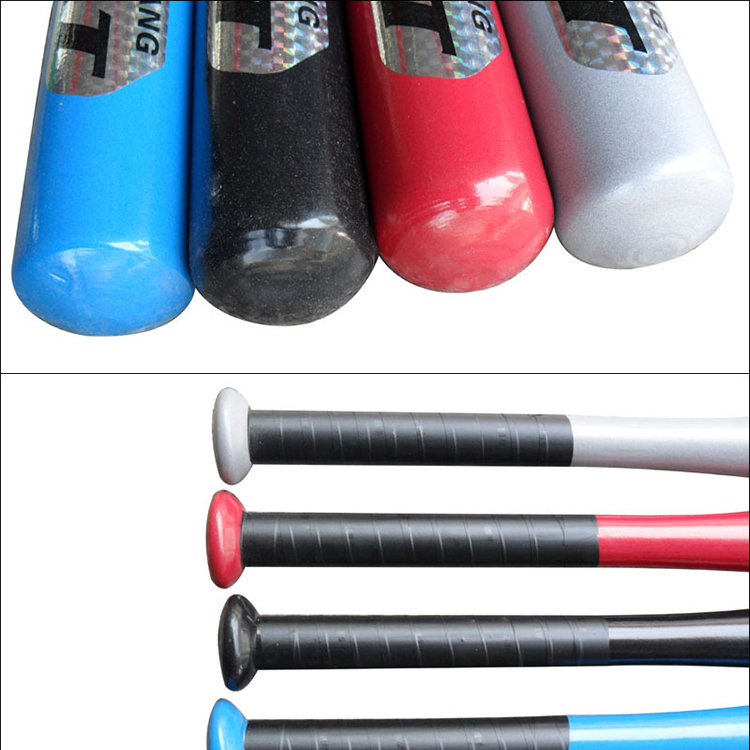 NEW Light Weight Rubber Grip Bat Outdoor Sports Aluminum Alloy Soft Baseball Bat