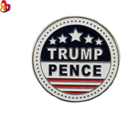 high quality TRUMP American Flag custom hard enamel pin