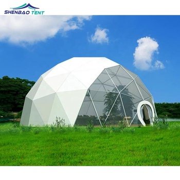 Large Sunbubble Geodesic Greenhouse Dome Tent Kits