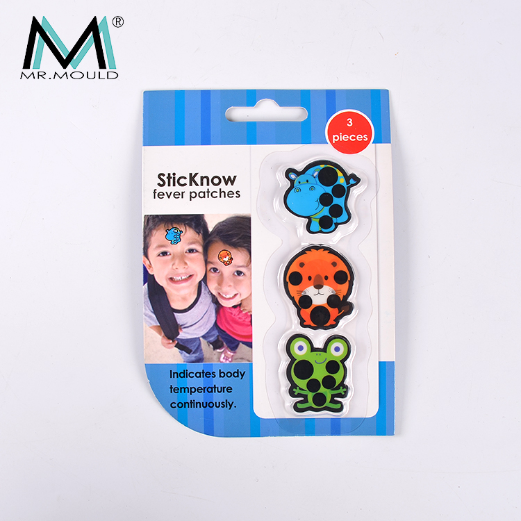 LCD promotionele premies koorts scan thermometer strip Kids Baby Voorhoofd Thermometer MM-TC014A