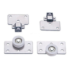The Hottest Competitive Price adjustable sliding door fittings and roller for wardrobe sliding door assembly fittings