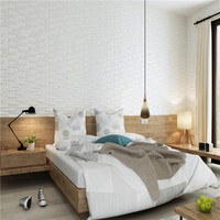 adhesive 3d wood wall panel brick wallpaper sticker for home decor philippines