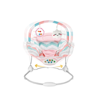 2019 New Soft And Safe Colorful Baby Bouncer Vibrating Chair
