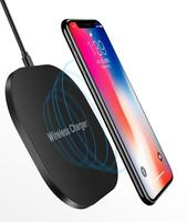 New Product 2019 10W Wireless Quick Charger For iPhone X 8, Wireless Charging fast Pad for Samsung Note8 S8 S7 S6 Edge