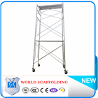 Q235/Q345 International Mason or Ladder Door Frame Scaffolding Construction with Movable Platform Andamios de carga