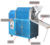 Online support blue groundnut/pumpkin seed  roasting machine,portable peanut roaster machine for peanut processing