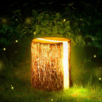 Wholesale Chinese Frp Outdoor Landscape Lighting Christmas Led Artificial  Wooden Tree Stump Garden Decoration   Buy Garden Decoration,Outdoor Garden  ...