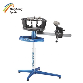 Alpha Manual Stringing Machine For Badminton And Tennis Racket - Buy Racket  Stringing Machine,Badminton Stringing Machine,Alpha Manual Stringing