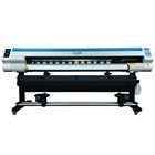 Factory wholesale 1.6m 1.8m dx5 XP600 head vinyl sticker eco solvent printer in China CMYK eco solvent printer