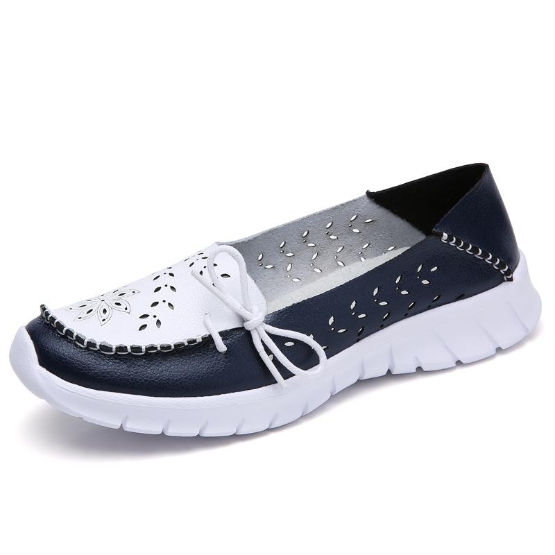 New laser shoes flat shoes women sandals