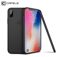 CAFELE Best Selling Custom logo TPU Cell Phone Back Cover Matte Slim Soft TPU Phone Cover Case for iPhone Xr Xs max