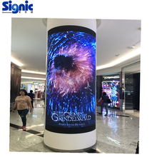 P2.5 full color flexibele led display <span class=keywords><strong>gordijn</strong></span> prijs en flexibele led video wall prijs