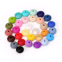 Bpa Free Silicone Beads For Baby, Silicone Beads Baby Teether, Silicone Teething Beads Food Grade