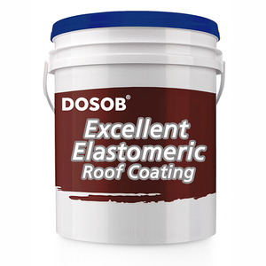 Elastomeric Waterproof Coating for Metal and Concrete Roof