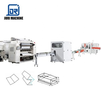 Bag Drawing Type Facial Tissue Production Line Automatic Paper Facial Tissue Making Machine