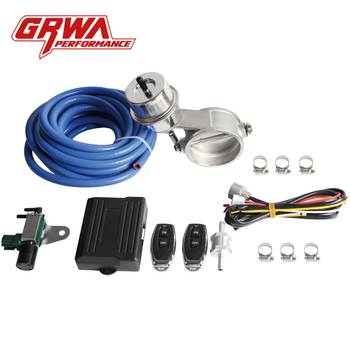 GRWA High Quality Popular Exhaust Valve Manufacture Boost Exhaust Cutout Valve For Manuel