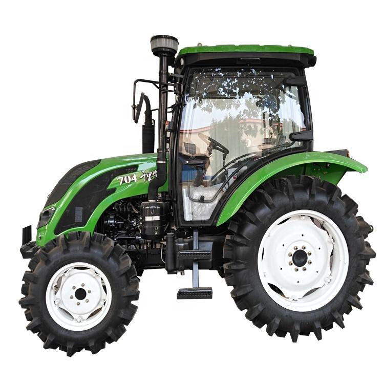 QLN 70HP 4*4รถแทรกเตอร์เครื่องจักรกลการเกษตร,ราคาถูกจีนรถแทรกเตอร์ด้านหน้า Loader