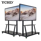 50 inch touch screen 4k LCD infrared touch glass screen and wireless monitor with wall mounted digital TV