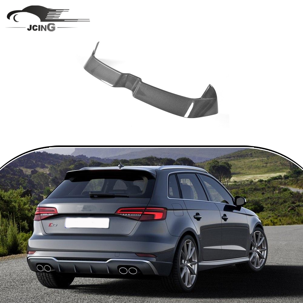 For Rear Trunk Wing Spoiler Audi S3 Rs3 Typ 8v A3