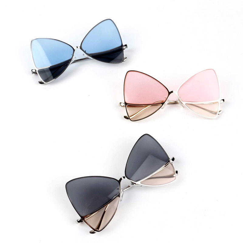 Assorted Wholesale 12 Pair New Womens High Fashion Cat Eye Triangle Sunglasses
