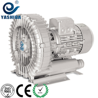 YASHIBA blower portable Extended version of high temperature 0.37kw220v ring blower