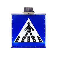 Wholesale price LED logo road pedestrian sign for traffic safety