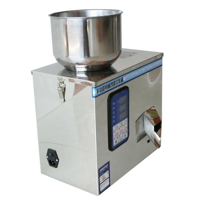 Desktop Beans Weighing Racking Machine Nut and beans and coffee packing machine