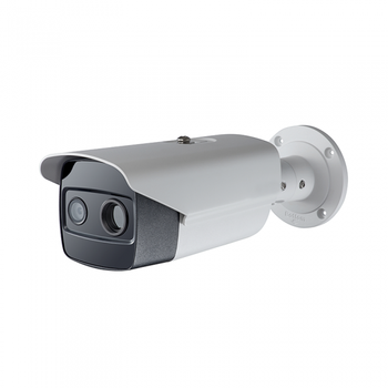 Thermal Bi Spektrum Network Bullet Camera 160X120, HIKVISION Asli Thermal Imaging Camera DS-2TD2615-7