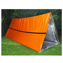 Reflecterende outdoor draagbare camping onderdak emergency <span class=keywords><strong>survival</strong></span> <span class=keywords><strong>tent</strong></span>
