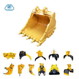 Backhoe Loader Rock Bucket Thumb Grab Bucket Attachment for Excavator