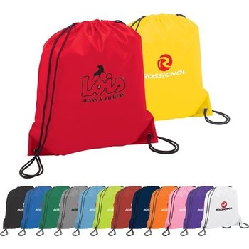 Promotional Cinch  Draw string Bag/High Quality Draw String Backpack