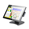 Supermarket POS Systems, Point of Sale 15inch POS machine with MSR FRID