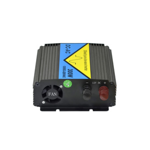 Laptop/camera/TV/DVD/Car refrigerator charger, 600W 12VDC High Frequency  Pure Sine Wave Inverter